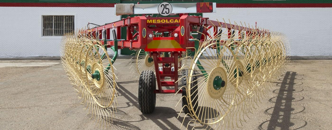 mesolcar, hilerador, maquinaria agrícola, fabricación maquinaria agrícola, fabricación hilerador