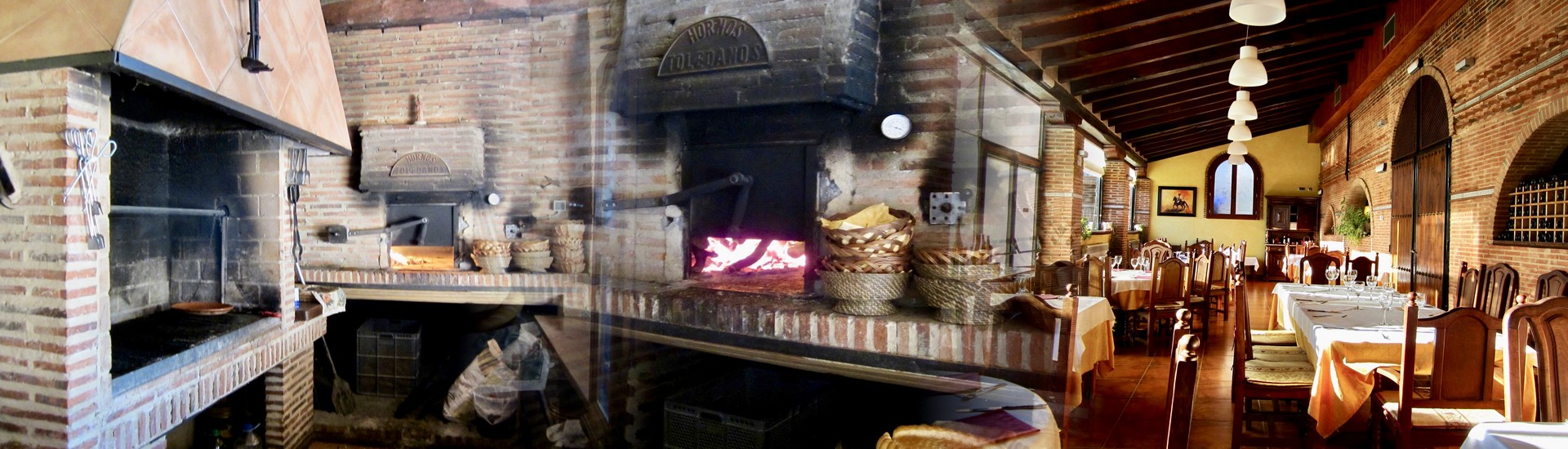 restaurante la alcazaba, la alcazaba palencia, horno de leña en palencia
