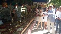 El Alcalde de Palencia inauguró ayer el Mercado Medieval
