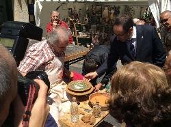 La XXVIII Feria de Cerámica abre sus puertas con 36 expositores llegados de Castilla y León, Andalucía, Asturias, Cantabria, Castilla La Mancha, Galic