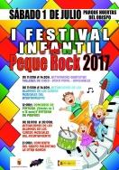 El parque Huertas del Obispo acogerá el 1 de julio el I Festival Pequerock organizado por Concejalía de Juventud y Escuela de Rock