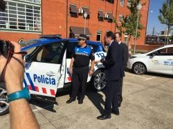 El Alcalde quiere continuar transformando Policía Local en base a la filosofía smart city