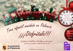 El tren navideño volverá a estar disponible para palentinos y visitantes del 22 de diciembre al 7 de enero
