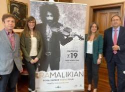 Ara Malikian vuelve a Palencia el 19 de diciembre