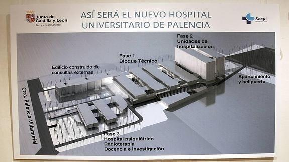 EMPIEZA LA CUENTA ATRáS PARA EL NUEVO HOSPITAL.