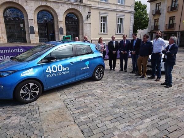 Palencia ha sido parada de la segunda edición de la iniciativa 'Mi ciudad inteligente' promovida por Geocyl en colaboración con Renault y RECI