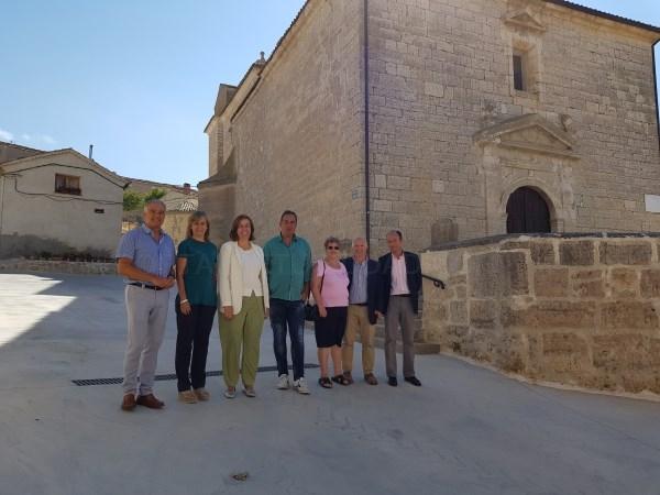 La Diputación invierte 27.000 euros en la pavimentación de las calles Iglesia y Campillo de Hornillos de Carrato haciéndolas accesibles a las personas