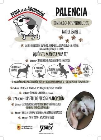 EL PARQUE DEL SALóN ACOGERá LA I FERIA DE ADOPCIóN DE ANIMALES EL PRóXIMO DOMINGO 24 DE SEPTIEMBRE