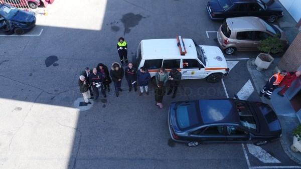 EL PARQUE DE BOMBEROS DE PALENCIA ES EL SEGUNDO DE TODA ESPAñA QUE CUENTA CON EL APOYO DE UN DRON PARA ABORDAR SUS DIFERENTES INTERVENCIONES