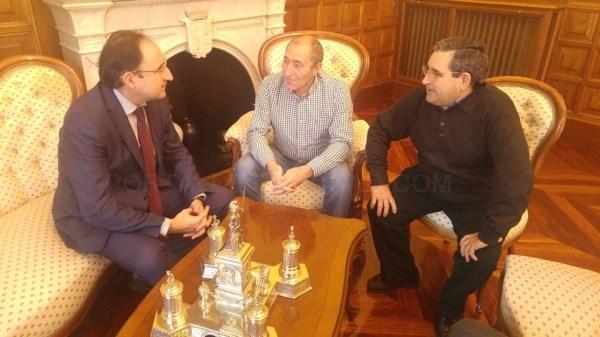 El Alcalde de Palencia recibió al nuevo presidente de la cooperativa agroalimentaria Agropal