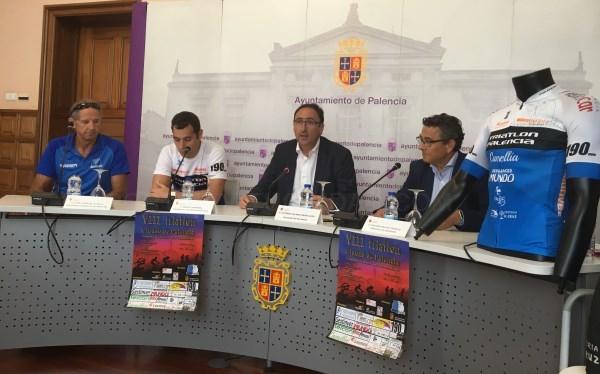 LA OCTAVA EDICIóN DEL TRIATLóN 'CIUDAD DE PALENCIA' ASUME LA CATEGORíA DE CAMPEONATO DE CASTILLA Y LEóN DE DISTANCIA OLíMPICA