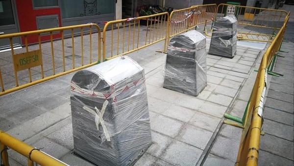 Los vecinos de Becerro de Bengoa y Panaderas podrán utilizar los nuevos contenedores soterrados en próximas fechas