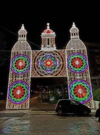 Palencia mostrará su mejor imagen en San Antolín gracias a la instalación de 32 motivos luminosos en diferentes puntos de la ciudad