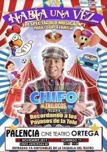 CHIFLO DE TRILOCOS PRESENTA EN EL ORTEGA EL ESPECTáCULO 'HABíA UNA VEZ...', HOMENAJE A LOS MíTICOS PAYASOS GABI, FOFO, Y MILIKI
