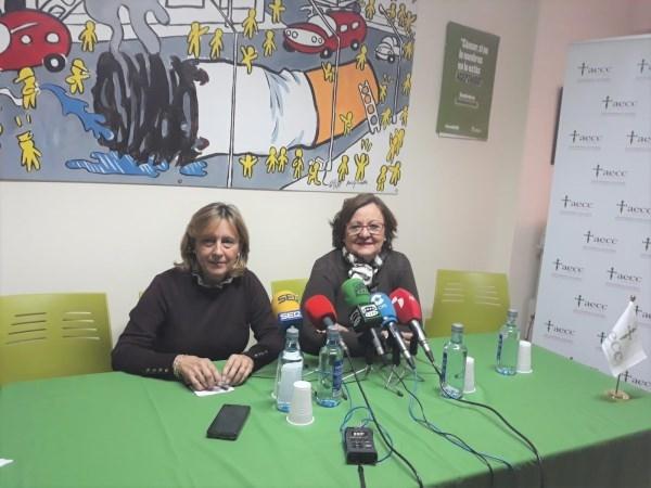 LA NUEVA PRESIDENTA DE LA AECC EN PALENCIA SERá ROSA MARíA ANDRéS CARBAJAL