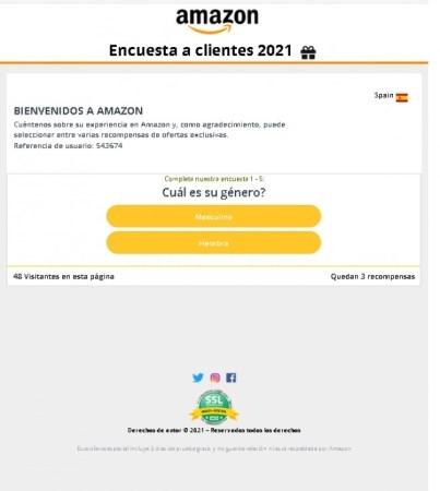 Cuidado! Un phishing de Amazón