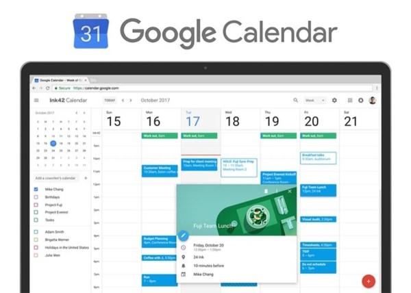 No olvides tus reuniones con Google Calendar
