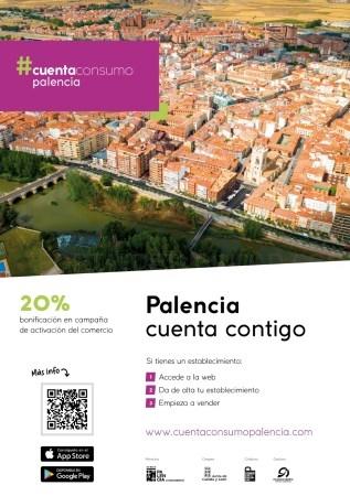 El número de establecimientos que ya se han adherido a la iniciativa 'Cuenta Consumo Palencia' alcanza los 130