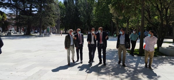 El nuevo parque de Los Jardinillos se establece como la primera piedra de una nueva Palencia