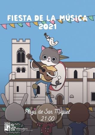 Artistas palentinos protagonizarán el Día de la Música organizado por la Concejalía de Cultura