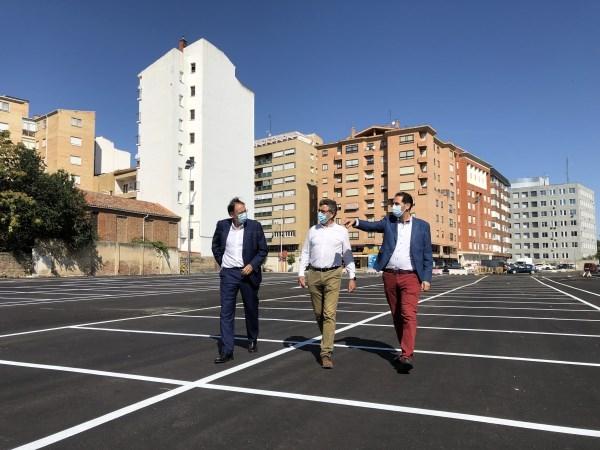 662 plazas para aparcar en pleno centro de Palencia