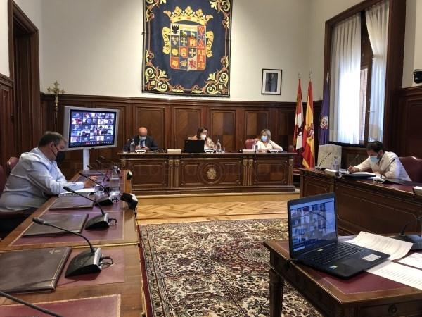 La Diputación de Palencia mejora la coordinación con la administración para mejorar la gestión de tributos cedidas por los ayuntamientos