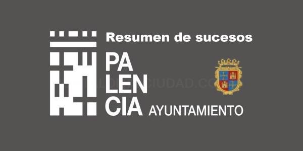 Resumen de sucesos locales en Palencia