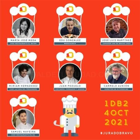 Bi-Presidencia en el jurado de Una de Bravas, Concurso Internacional de Elaboración de Patatas Bravas