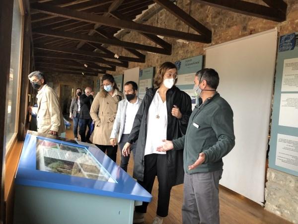 La Diputación acude a Barruelo de Santullán para visitar el Centro de Interpretación de la Minería con el que colabora con 20.000 euros
