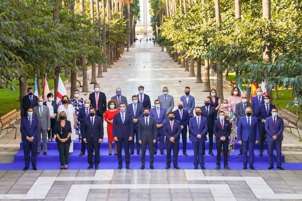 Armisén participa en la reunión de la comisión de diputaciones, cabildos y consells de la FEMP que se celebra en Almería