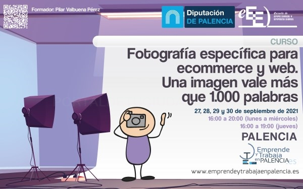 La Diputación invita a empresas y autónomos que comercialicen online al curso Una imagen vende más que mil palabras