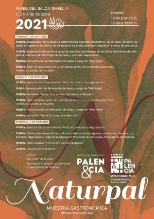 La muestra gastronómica NATURPAL estrena ubicación en el Paseo del Salón con 26 productores palentinos