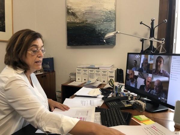 Canal de Castilla, plantación de chopos ycontrol del lobo temas centrales de la reunión Diputación-Secretaría de Estado de Medio Ambiente