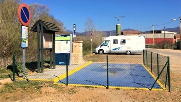 La Diputación de Palencia distribuye 138.000 € de subvenciones entre ocho ayuntamientos para crear o ampliar sus áreas de servicio para autocaravanas