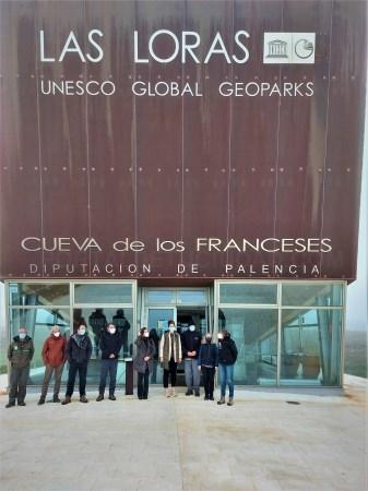 """La Diputación de Palencia promoverá la investigación científica en el Geoparque Mundial de la Unesco """"Las Loras"""" a través de la Universidad de Salaman"""