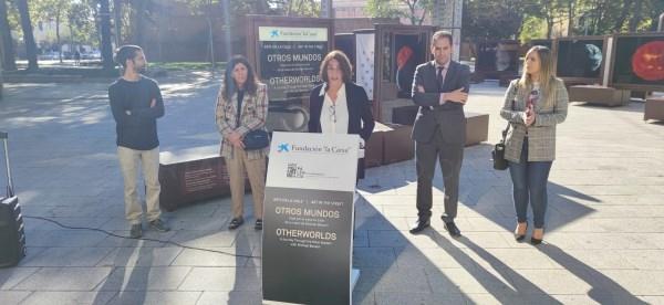 """La Fundación """"la Caixa"""" y el Ayuntamiento de Palencia convierten la ciudad en un museo a cielo abierto, con la exposición Otros mundos"""