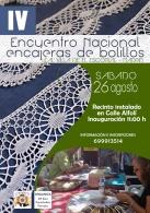 IV ENCUENTRO NACIONAL DE ENCAJERAS DE BOLILLOS