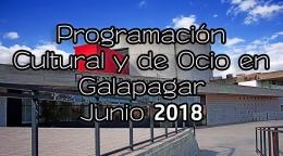 AGENDA CULTURAL GALAPAGAR JUNIO 2018