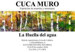 EXPOSICIóN DE ACUARELAS: LA HUELLA DEL AGUA (CUCA MURO)