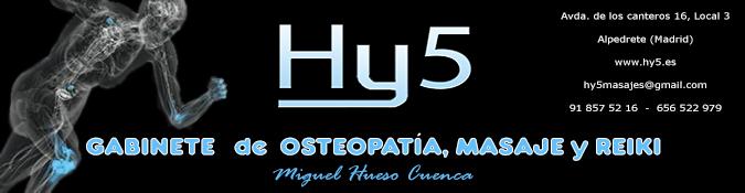 GABINETE DE OSTEOPATÍA, MASAJE Y REIKI  HY5