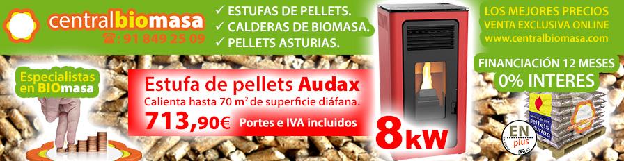 Estufas de Pellets en Villalba