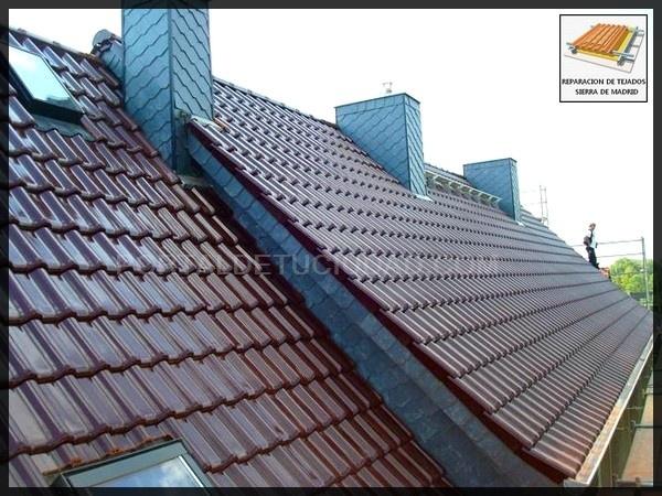 reparacion de tejados sierra de madrid cubiertas en