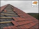 LIMPIEZA DE TEJADOS,  REPARACIÓN de tejados en collado villlaba,  limieza de tejados en la sierra de, CUBIERTAS,  CANALONES,  LIMPIEZA DE TEJADOS