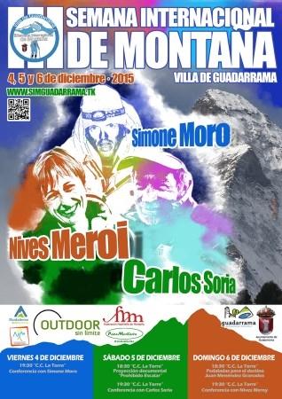 """Comienza la III Semana Internacional de Montaña de Guadarrama """"Villa de Guadarrama"""""""