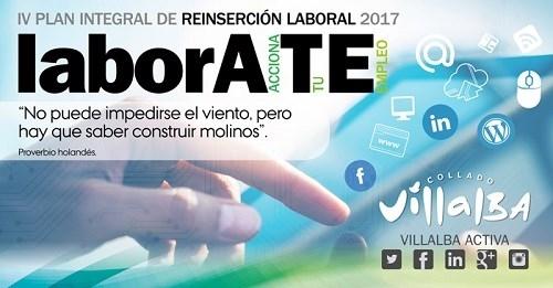 El Ayuntamiento de Collado Villalba pone en marcha el 'IV Plan Integral de Reinserción Laboral, Labórate'