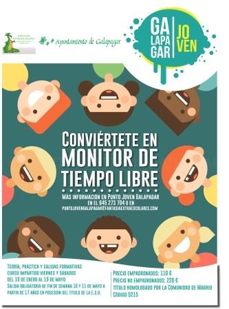 CURSO MONITOR DE TIEMPO LIBRE - GALAPAGAR