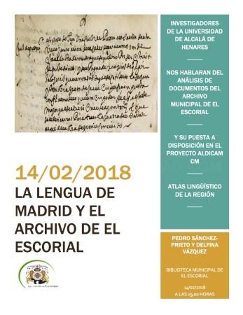 La Biblioteca alberga una charla sobre la evolución de la lengua en Madrid a través de los documentos existentes en el Archivo Municipal