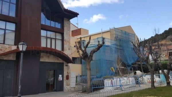 Comienzan Obras de mejora en las Instalaciones Deportivas del IES Gonzalo Anés, en Collado Mediano