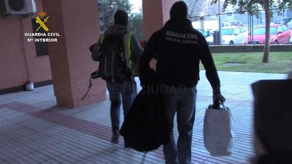 Detenidos cinco integrantes de un grupo que había robado en más de 200 viviendas de varios municipios