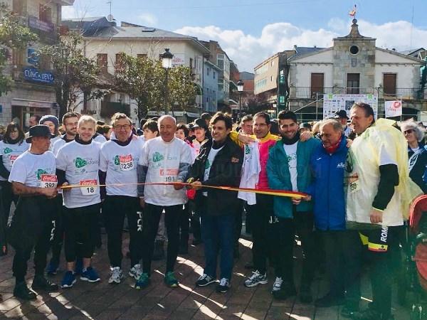 Récord de participación y más de 7.500 euros recaudados en la III Marcha Solidaria de Galapagar